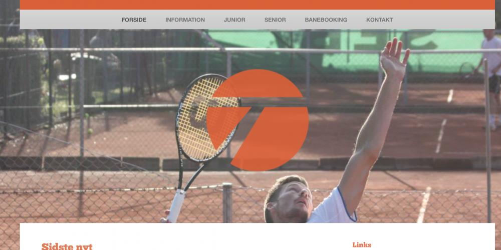 Ny hjemmeside for Helsingør Tennisklub